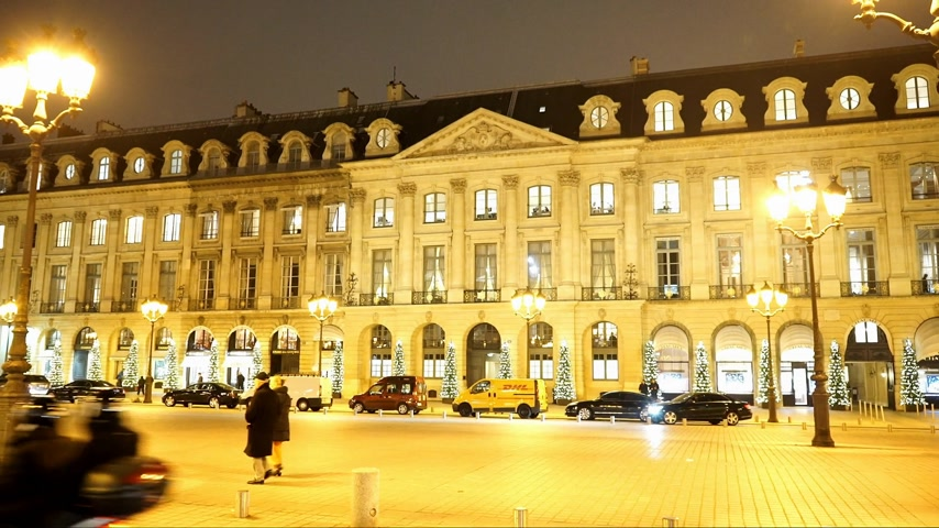 french metro : Wonderful exclusive Place Vendome in Paris - PARIS, FRANCE