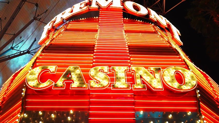 espetacular : Amazing Freemont casino - LAS VEGAS, NEVADA  USA April 20, 2015