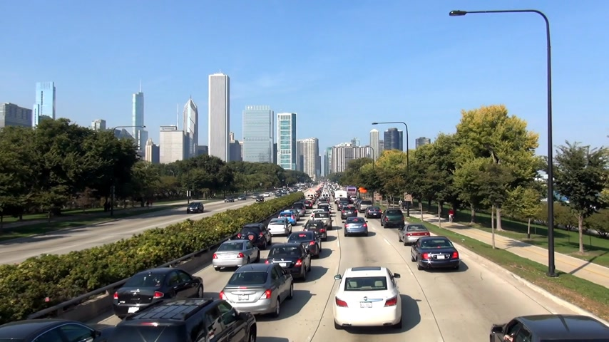 geográfico : Chicago Traffic - CHICAGO, ILLINOIS  USA