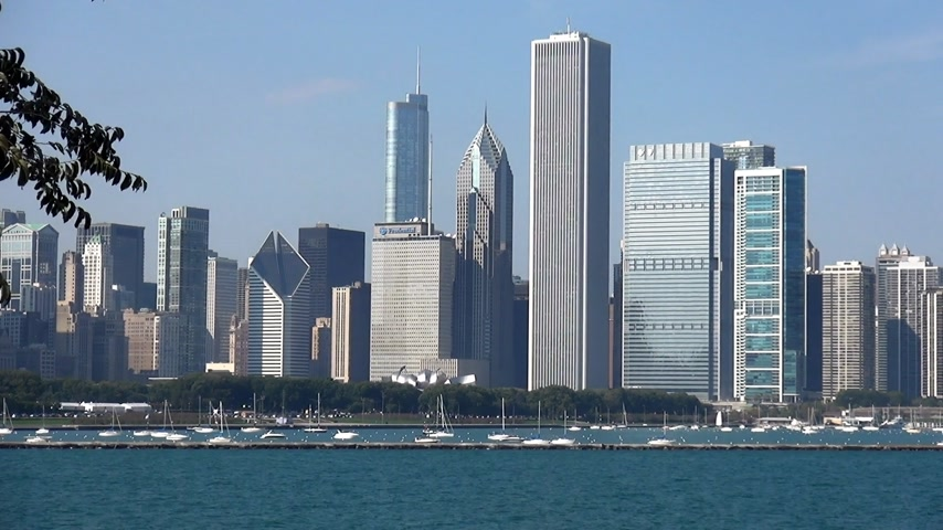 geográfico : Great view on Chicago Skyline - CHICAGO, ILLINOIS  USA