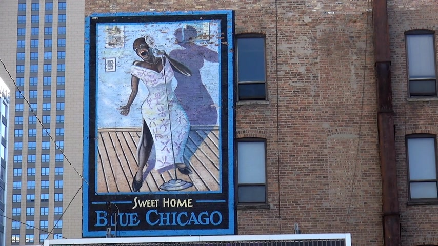 geográfico : Famous Club Blue Chicago - CHICAGO, ILLINOIS  USA