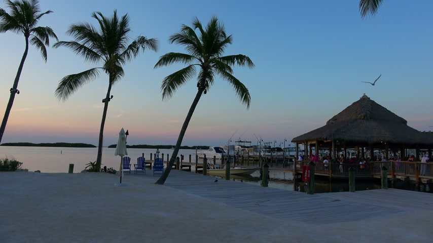 paraíso : The beautiful Florida Keys at sunset