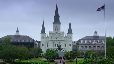 kult : St. Louis Cathedral at Jackson Square in New Orleans
