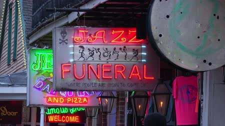 kult : Jazz Funeral sign in New Orleans