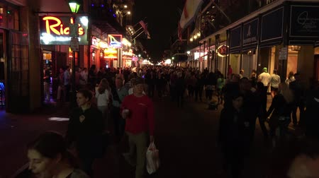 kult : Big street party at Bourbon Street French Quarter New Orleans
