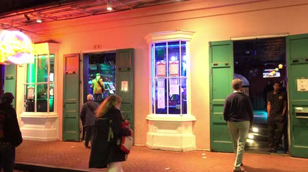 kult : Party locations at Bourbon Street French Quarter New Orleans by night