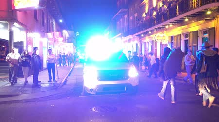kult : NOPD New Orleans Police at night