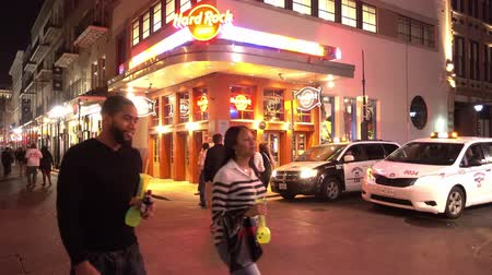 kult : Hard Rock Cafe New Orleans at night Dostupné videozáznamy