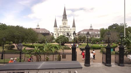 kult : St. Louis cathredral and Jackson Square in New Orleans