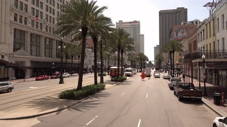 kult : Driving through famous Canal street New Orleans
