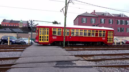 kult : New Orleans street car trolley at French Quarter