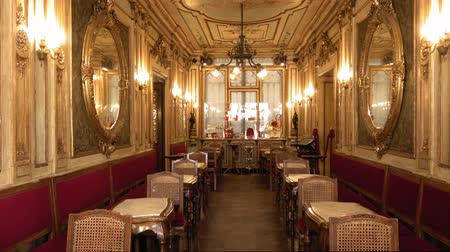 caffe : Famous and expensive Caffe Florian in Venice at St. Marks Square