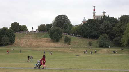 greenwich : Beautiful meadows at Greenwich Park in London