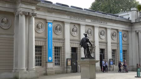 greenwich : Discover Greenwich at Old Royal Naval College Stock Footage