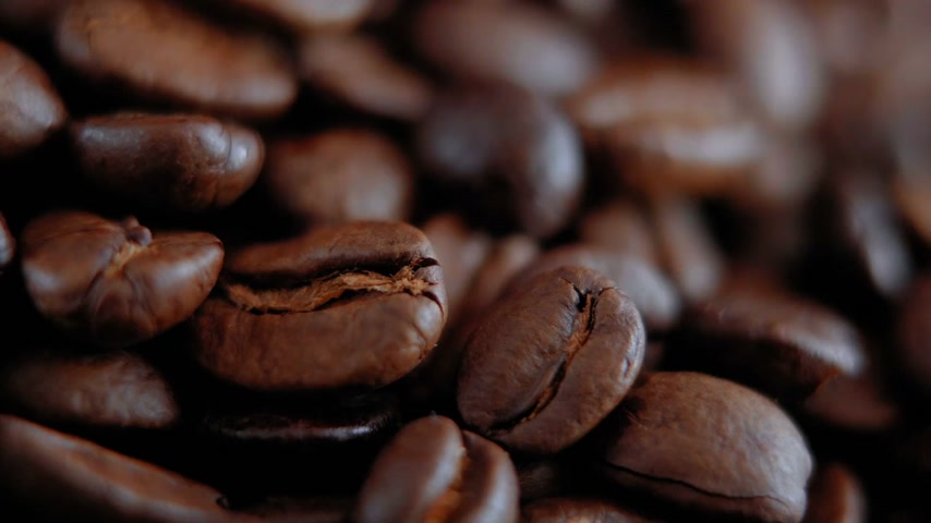 овощи : Close up shot of Coffee beans