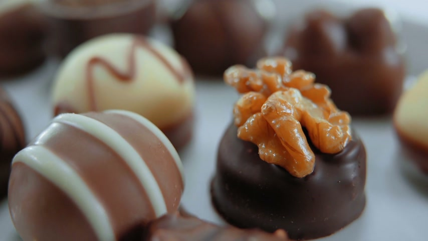 pralina : Pralines and chocolates - a variety of sweets