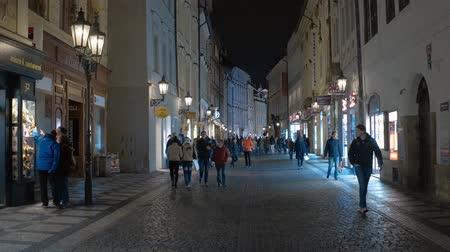 çek cumhuriyeti : Pedestrian Zone in the historic district of Prague