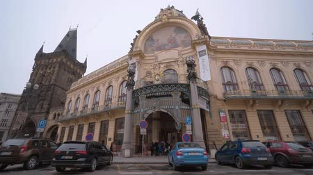 çek cumhuriyeti : Municipal House in Prague - home of the Prague Symphony Orchestra