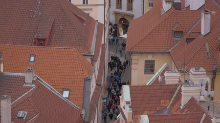 Československo : Narrow Lanes in the city of Prague Dostupné videozáznamy