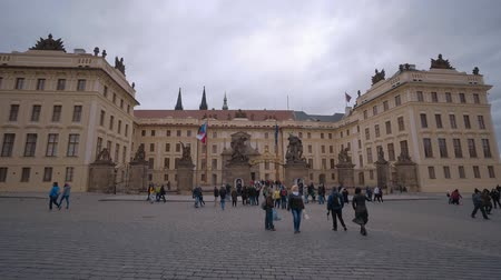 Československo : Prague Castle - beautiful wide shot