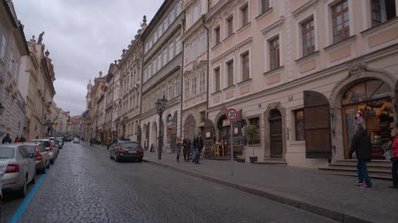 çek cumhuriyeti : Street view in Lesser Town of Prague City