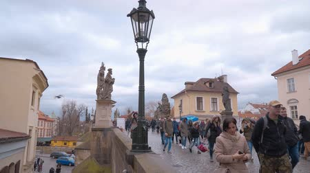 Československo : Famous Charles Bridge in Prague