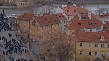 zegar : Beautiful mansions in the city of Prague