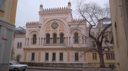 Československo : Spanish synagogue in Prague - the Jewish Quarter
