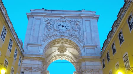 street prhotography : Wonderful arch at Augusta Street in Lisbon