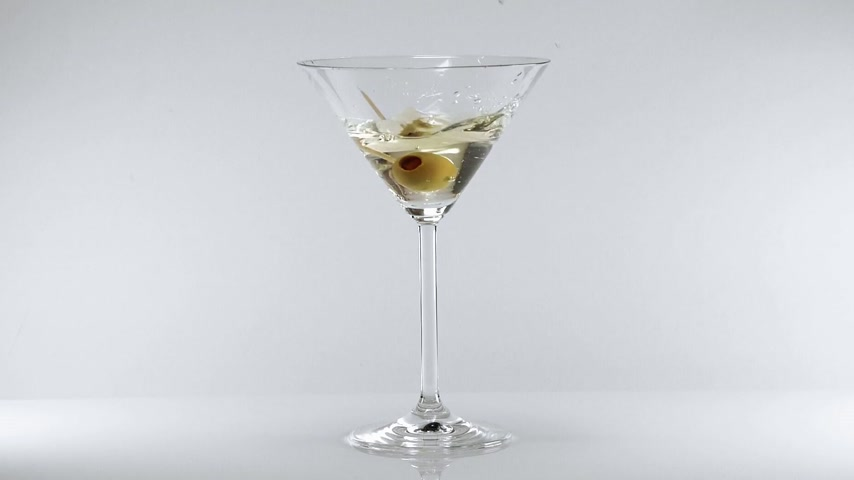 martini glasses : Vodka martini - a classic cocktail prefered by a faous British agent