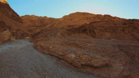 great indian desert : The red rocks at Death Valley National Park at Mosaic Canyon