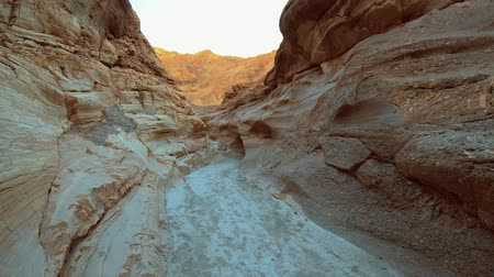 great indian desert : A Walk through Mosaic Canyon in the Death Valley National Park California