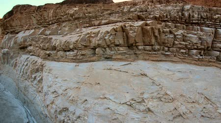 great indian desert : Beautiful Mosaic Canyon az Death Valley National Park in California Stock Footage