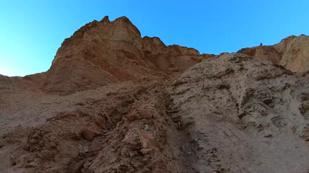 great indian desert : The Golden Canyon at Death Valley National Park