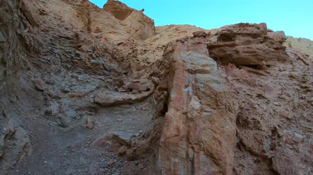 great indian desert : Amazing colors at Death Valley - the rocks of Golden Canyon