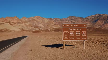 долина : Artists Palette - an awesome landmark at Death Valley California
