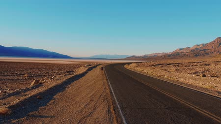 great indian desert : Scenery road through the amazing landscape of Death Valley National Park California