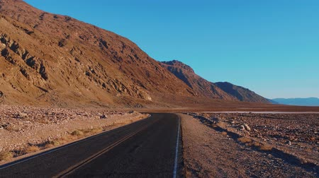 údolí : Beautiful scenery at Death Valley National Park California