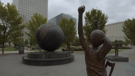 мостовая : Rotary Plaza in Tulsa - Rotary Club of Tulsa - USA 2017