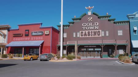 great indian desert : Gold Town Casino and historic western style city of Pahrump Nevada - USA 2017