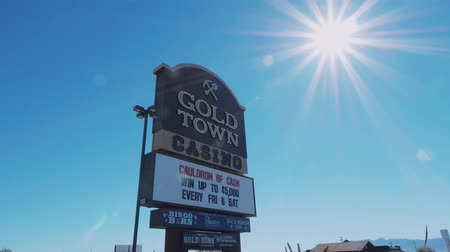 západ : Giold Town Casino in Pahrump Nevada - USA 2017