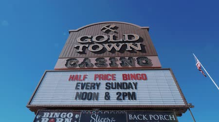 great indian desert : Giold Town Casino in Pahrump Nevada - USA 2017