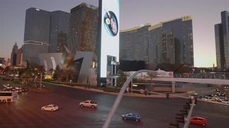 as : Amazing Las Vegas strip in the evening - USA 2017