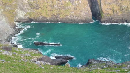 espetacular : Amazing view over the Kerry Cliffs at the Irish west coast