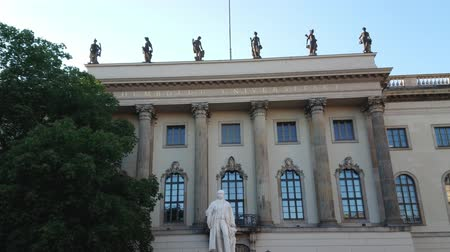 berlin skyline : Famous Humboldt University in Berlin