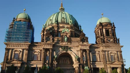 berlin skyline : Wonderful Berlin Cathedral - a famous building in the city