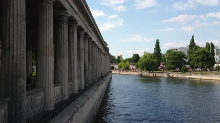 duvar : Museum Island at River Spree in Berlin