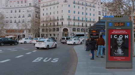 İspanya : Taxi Cabs in the city of Madrid
