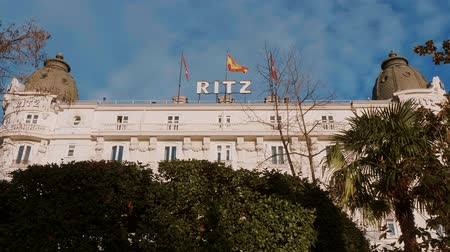 Мадрид : Famous Ritz Hotel in Madrid