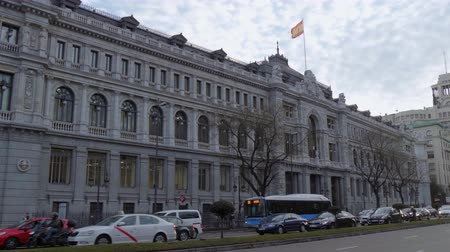 król : The Bank of Spain in Madrid Wideo